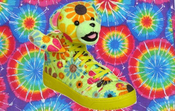 Jeremy Scott's Latest Adidas Shoe Is 1 Part Grateful Dead, 2 Parts Beanie Baby