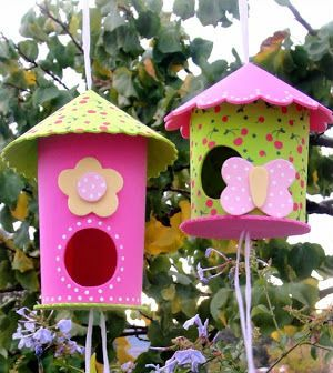 Saiba já passo a passo como fazer uma linda casinha de passarinho em EVA