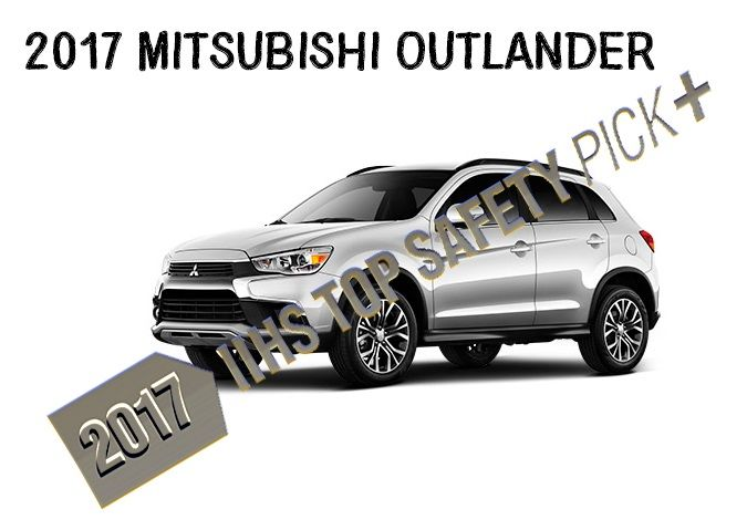 Find out why the 2017 Mitsubishi Outlander became a IIHS Top Safety Pick+ recipient! #Mitsubishi #Outlander #2017 #Safety #Awards