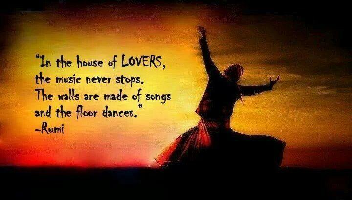 Maulana rumi rahmatullah alai sufism consciousness for House music lovers