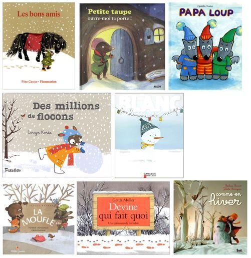 Dès le 3 novembre nous allons travailler en classe sur l'hiver, la neige et les bonhommes de neige à partir de ces différents albums:                                                                                                                                                                                 Plus