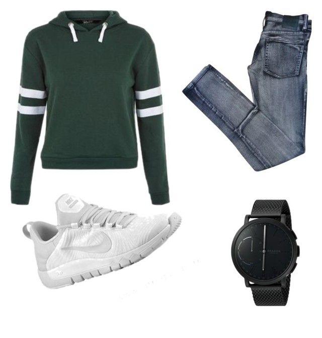 """Sweatshirt"" by yohannmollard on Polyvore featuring Cheap Monday, Skagen, men's fashion and menswear"