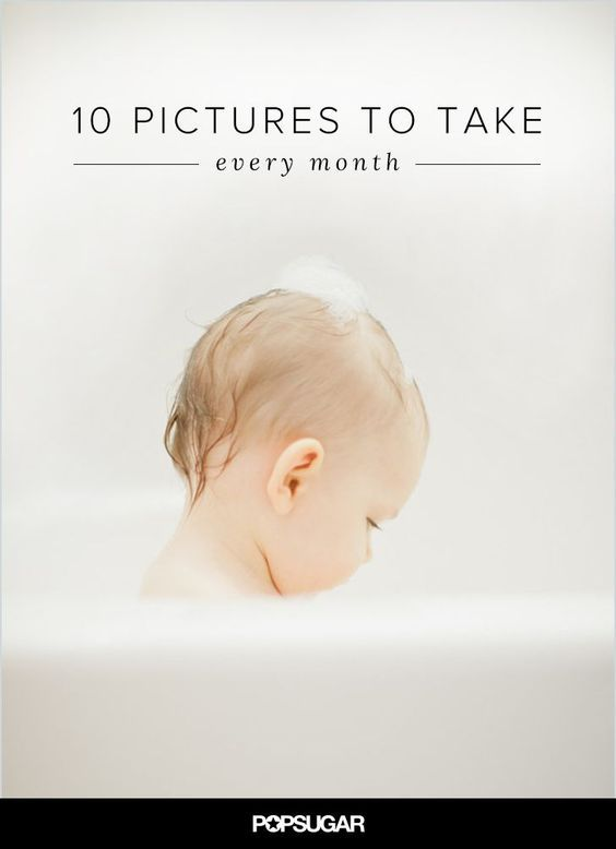 While you can't seem to put the camera down around your baby, see what essential photos you need to take each month, ultimately creating a chronicle of your little ones' growth.