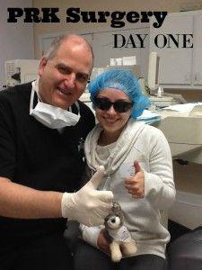 PRK Eye Surgery Day 1 --www.LivingLikeLeila.com