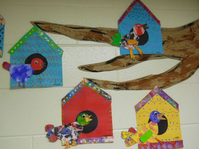Birds and Bird Houses -- 2nd/3rd grade