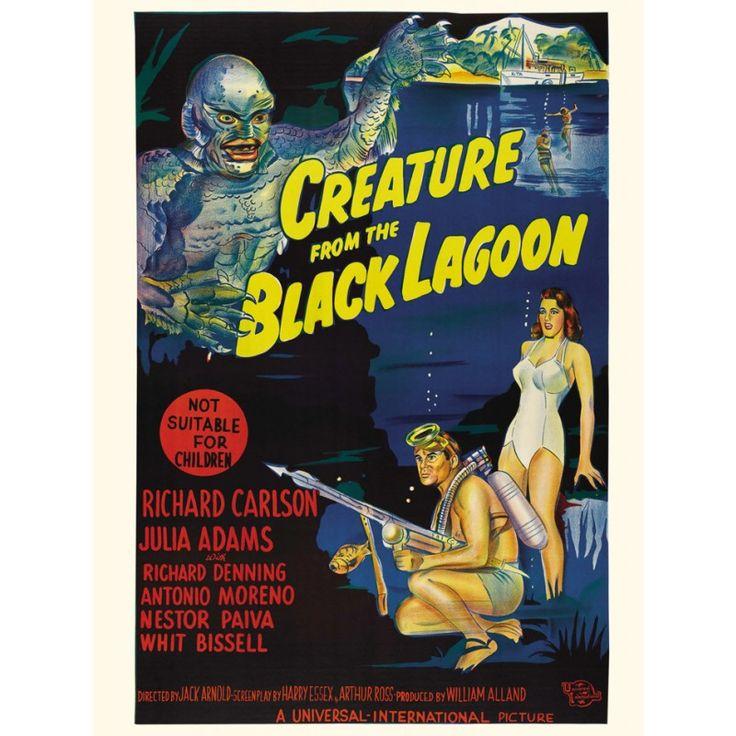 Pôster O Monstro da Lagoa Negra