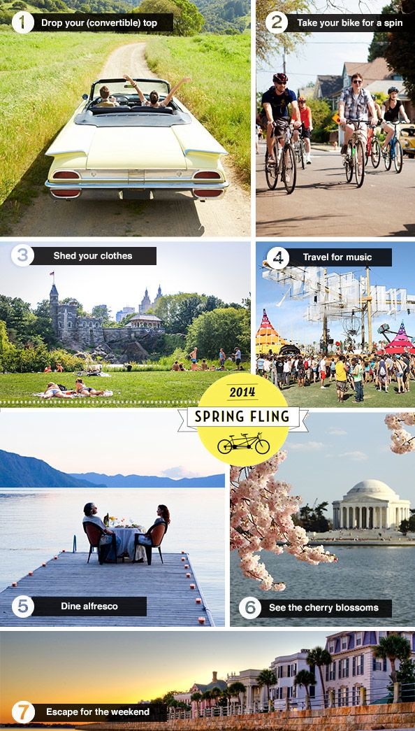 Our Spring To-Do List: Hotels Mood, Buckets Lists, Favorite Places, Mood Boards, Travel Inspiration, 2014 Spring, Places I D, Lists Image, Buckets Listttt