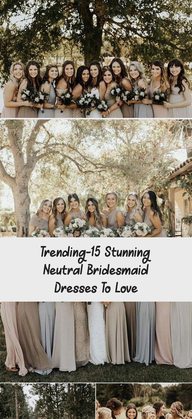 neutral champagne bridesmaid dresses #obde #weddingideas2019 #BridesmaidDresses2018 #BridesmaidDressesTeaLength #UniqueBridesmaidDresses #BridesmaidDressesSpring #NeutralBridesmaidDresses
