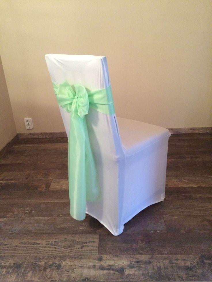 Bérelhető spandex székszoknya almazöld színű selyem masnival Érd
