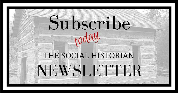 Subscribe to the weekly newsletter for the hottest resources, tips and tricks to take your social history research to the next level. Tell the stories of your ancestors with the empathy and understanding you gain from learning about their place and time. http://www.thesocialhistorian.com/subscribe/
