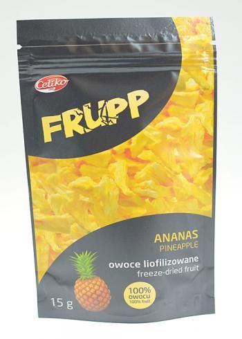 Ananas liofilizowany Frupp (15 g) - Celiko | Sklep AleDobre.pl