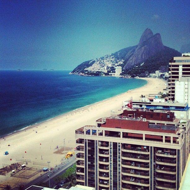 Praia de Ipanema in Rio de Janeiro, RJ