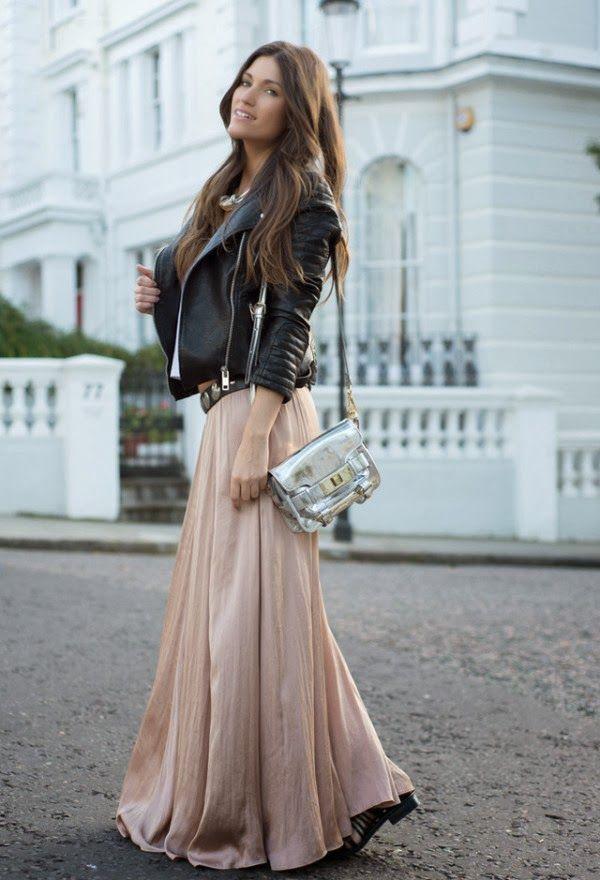 Vestidos y Faldas Combinaciones varias - Moda 2014