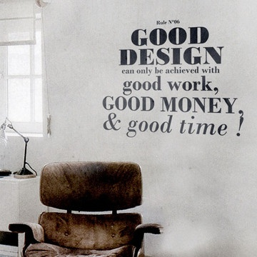 Design Rule No. 6 Decal, 94€, now featured on Fab.
