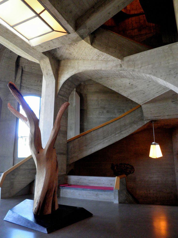 The Goetheanum, near Basel-Country, Switzerland, 1924-1928, by Rudolf Steiner