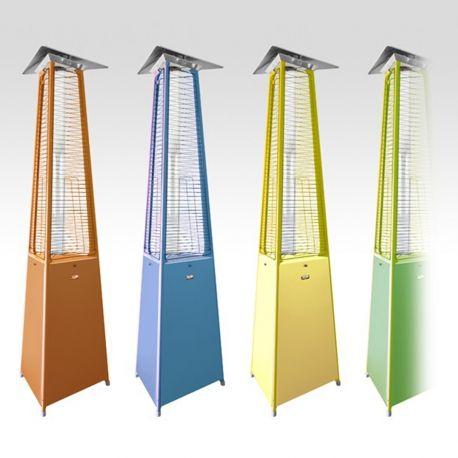 Chauffage Terrasse Gaz Pyramidal - Falo Evo Color par Italkero