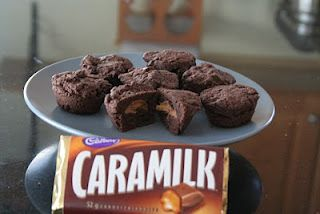 Caramilk Brownie Bites | All Day I Dream About Food