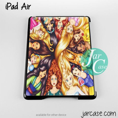all disney princesses Phone case for iPad 2/3/4, iPad air, iPad mini