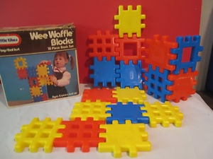 It was always a depressing day in kindergarten when you got stuck at the waffle block station while everyone else was having fun at the computers or play kitchen.