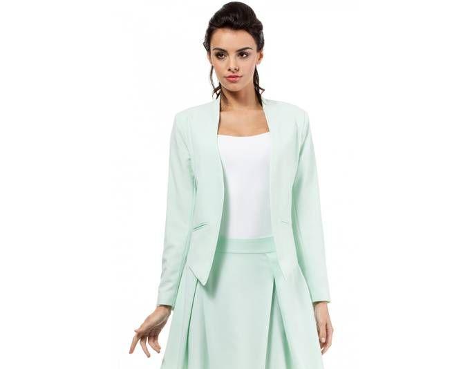 Clea Business Jacke Blazer Sakko Sacco Damenjacke Damenblazer in Pastellfarben ,Minze, 36 Jetzt bestellen unter: https://mode.ladendirekt.de/damen/bekleidung/blazer/sonstige-blazer/?uid=c591b2bf-2b4b-5e4c-a97b-1bb606a806db&utm_source=pinterest&utm_medium=pin&utm_campaign=boards #sonstigeblazer #blazer #bekleidung