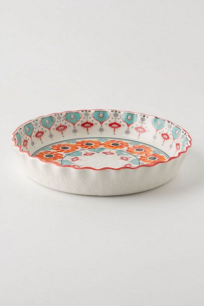 Poppy Ring Pie Pan #anthropologie