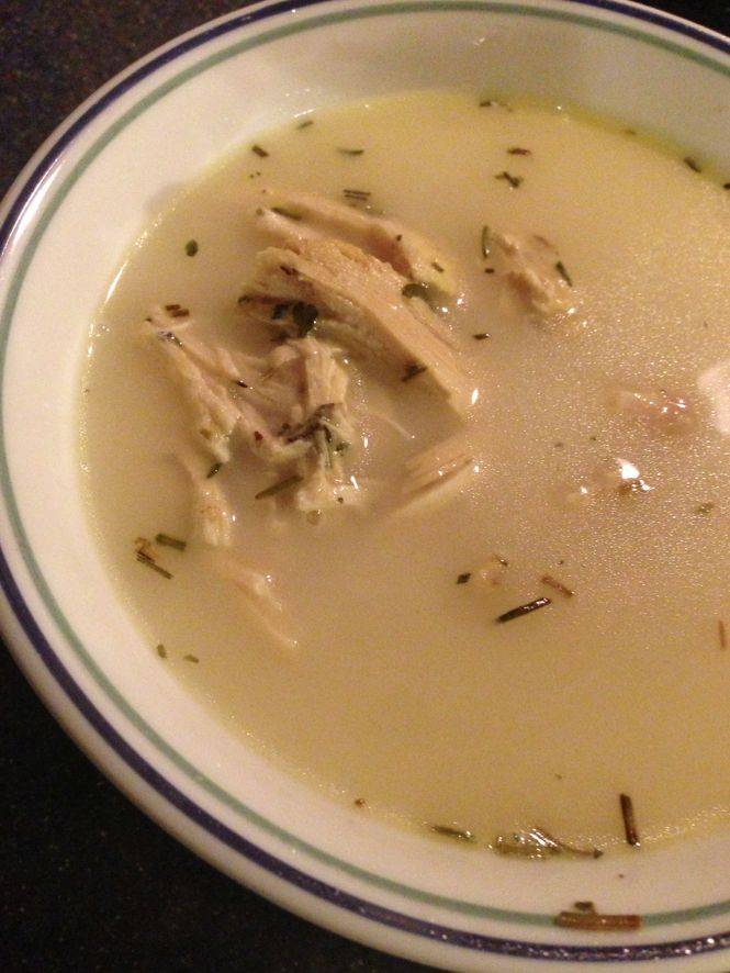 The Best Keto Chicken Soup Recipe Ever -- this chicken soup is amazing whether you're doing keto or not!