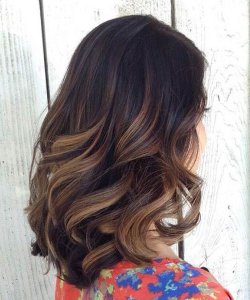 Stunning Ombre Marron Caramel Hair Ideas for 2017