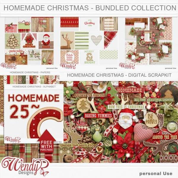 Homemade Christmas - WendyP - AD0816