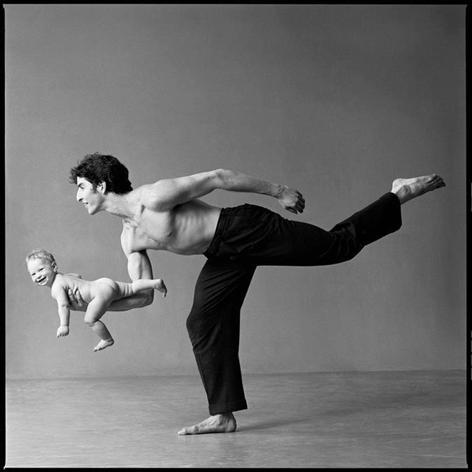 Yoga. Hard body. Discipline.