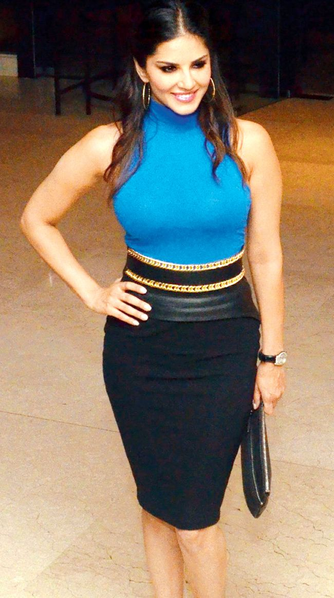 Sunny Leone looking hot at the launch of Mika Singh's film 'Balwinder Singh Famous Ho Gaya
