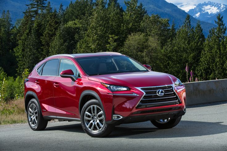 Lexus NX 300h Hybrid with high residual value...