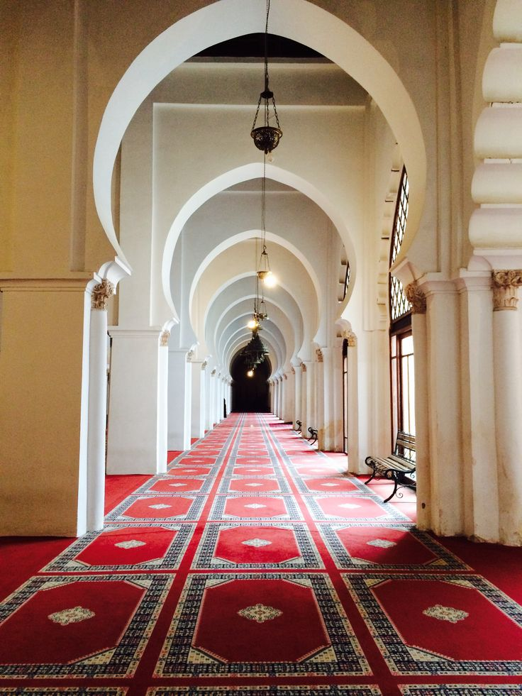 Interior of Koutobia Mosque