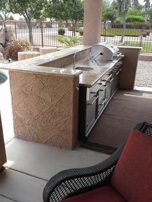 shop master forge 4-burner modular gas grill at lowes