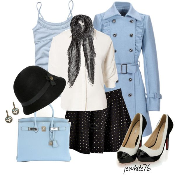 """""""Baby Blue Girl"""" by jewhite76 on Polyvore"""