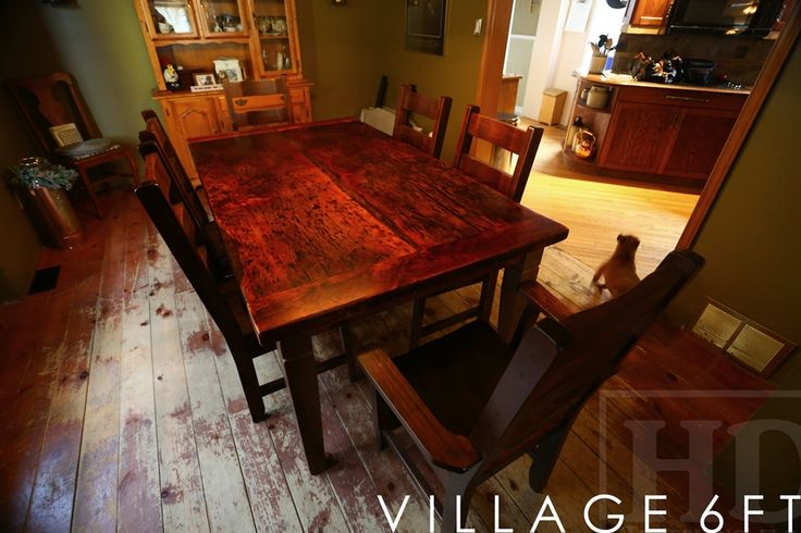 259 Best Images About Reclaimed Wood Harvest Tables On