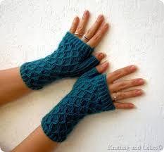 Risultati immagini per guanti senza dita all'uncinetto tutorial