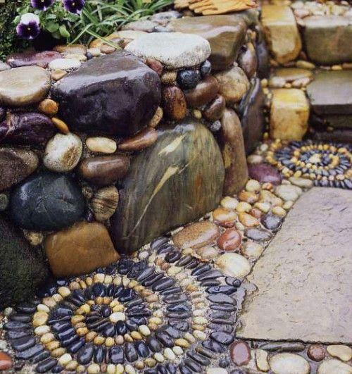 Мозаика своими руками из камушков