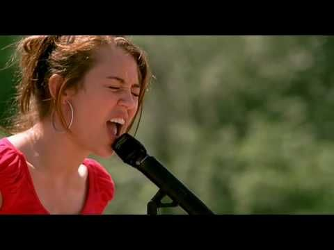 Hannah Montana - The climb. Everytime i'm givinup i sing this...and get back on the road. :)