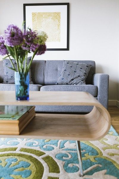 Moroccan influences with the Moroc Rug in Multicolour on Made Unboxed