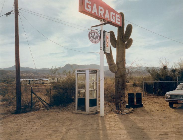 Photo by Stephen Shore. Reminds me of old movies.                              …