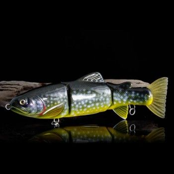 Lucky trout lake trout fishing lure woblery for Lake trout fishing lures