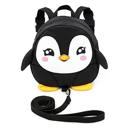 Safe Baby Harness Toddler Kids Safety Child Black Penguin Strap Rein Back Pack #SafeBabyHarness