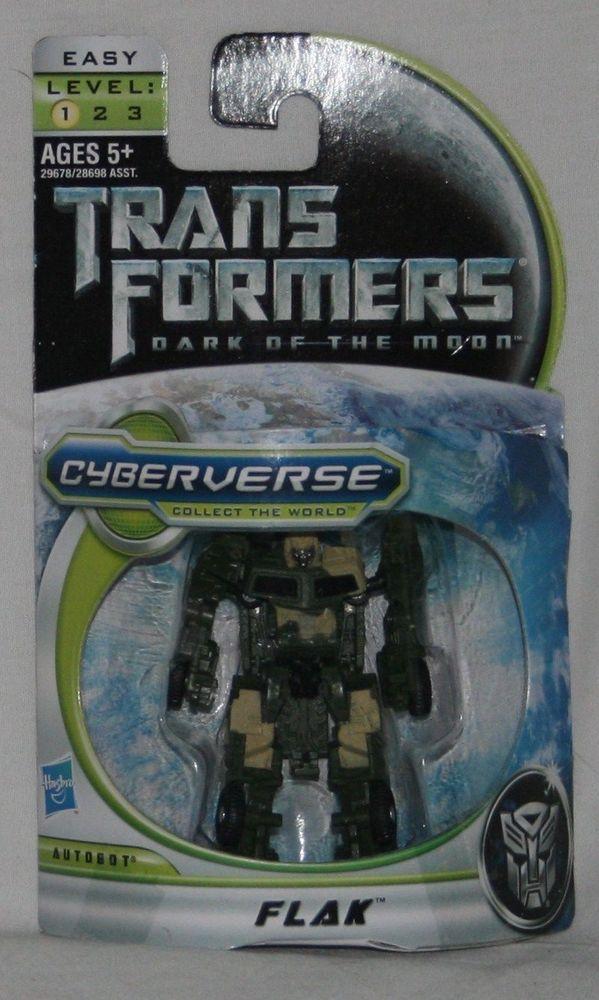 Transformers 3 Dark of the Moon Cyberverse Legion Class Action Figure Flak #Hasbro
