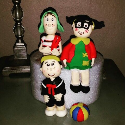 Chavo del 8 fondant figurines Serving the IE, SGV and Orange County area with custom cakes for any occasion. Visit us on FB or instagram @SugarCrumbs14