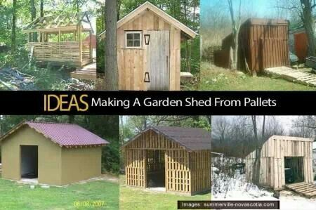 How to make a shed out of pallets sheds and lean to 39 s for Building a wendy house from pallets