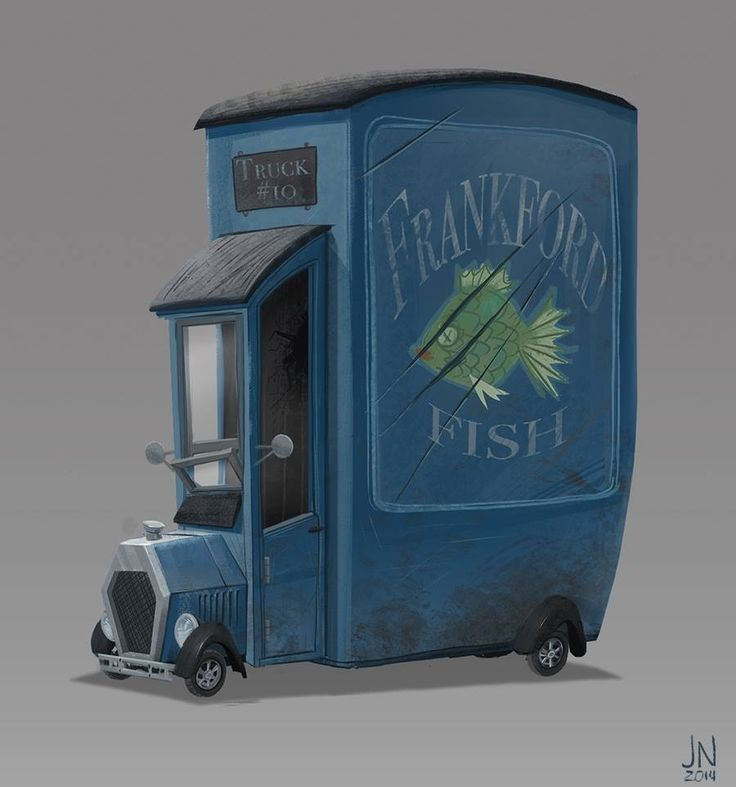 Painted a vehicle. ★ Find more at http://www.pinterest.com/competing/