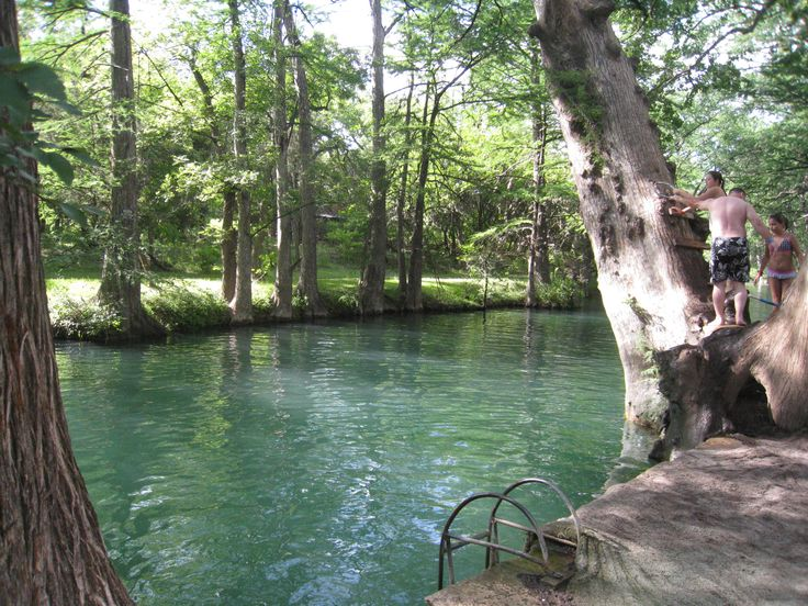 Yesterday we had the opportunity to continue our tour of Texas swimming holes. Description from kennyandsara.com. I searched for this on bing.com/images