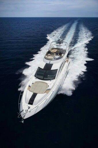 Sunseeker Yacht Lady Loves Luxury, Via ♕LadyLuxury♕