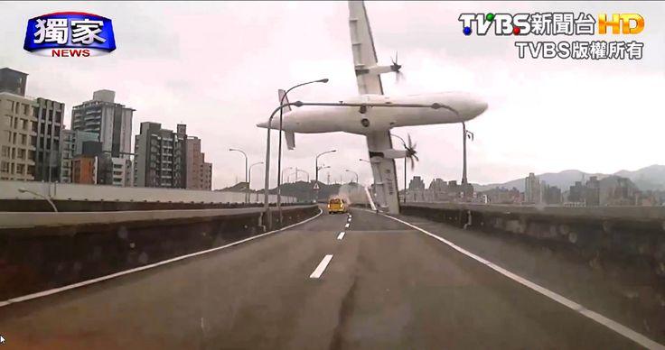 Big Brother? Dashcam flagra acidente aéreo em Taiwan - http://showmetech.band.uol.com.br/big-brother-dashcam-flagra-acidente-aereo-em-taiwan/