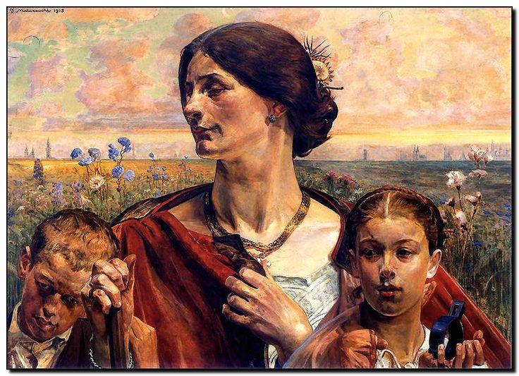 Jacek Malczewski, Motherland (1903)